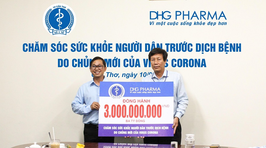 DHG Pharma accompanies with the medical industry of Can Tho to prevent Covid-19 epidemic